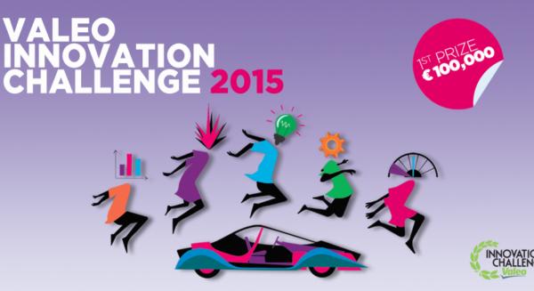 Banner of the Valeo Innovation Challenge 2015