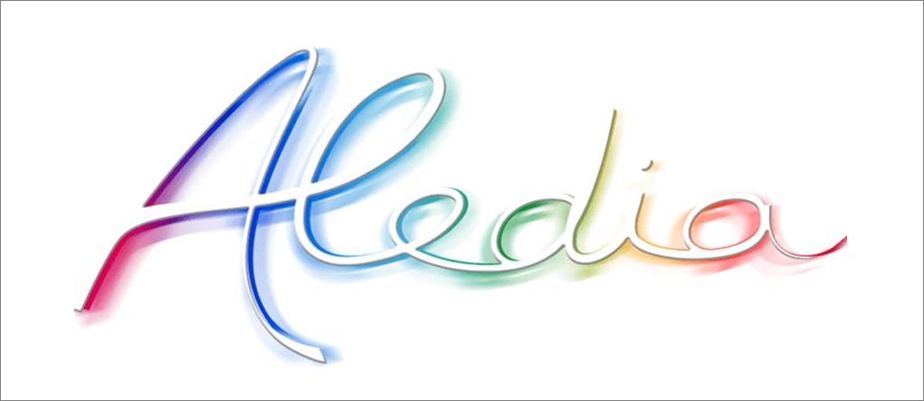 Logo of the start-up Aledia