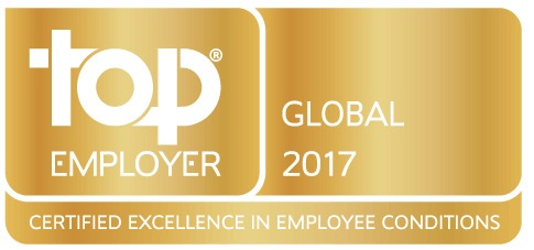 "In 2017, Valeo was named a ""Top Employer"" in 23 countries spread across five continents."