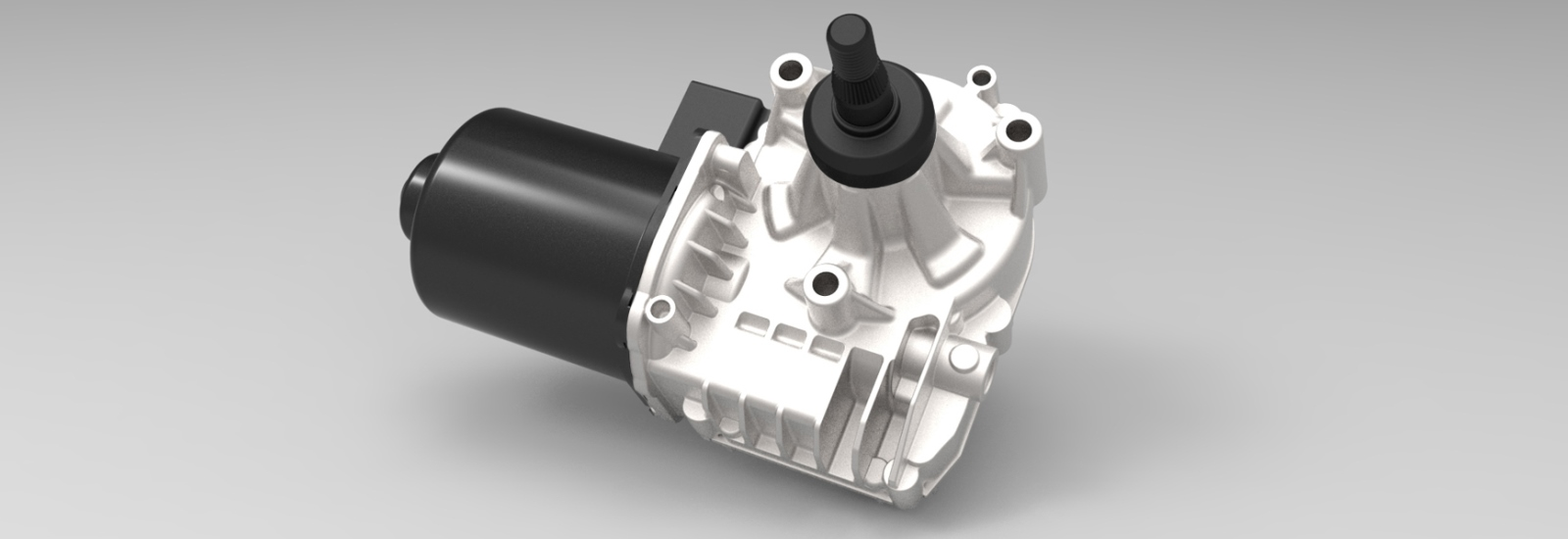 Dual Direct Drive Motors Light And Efficient Wiper System