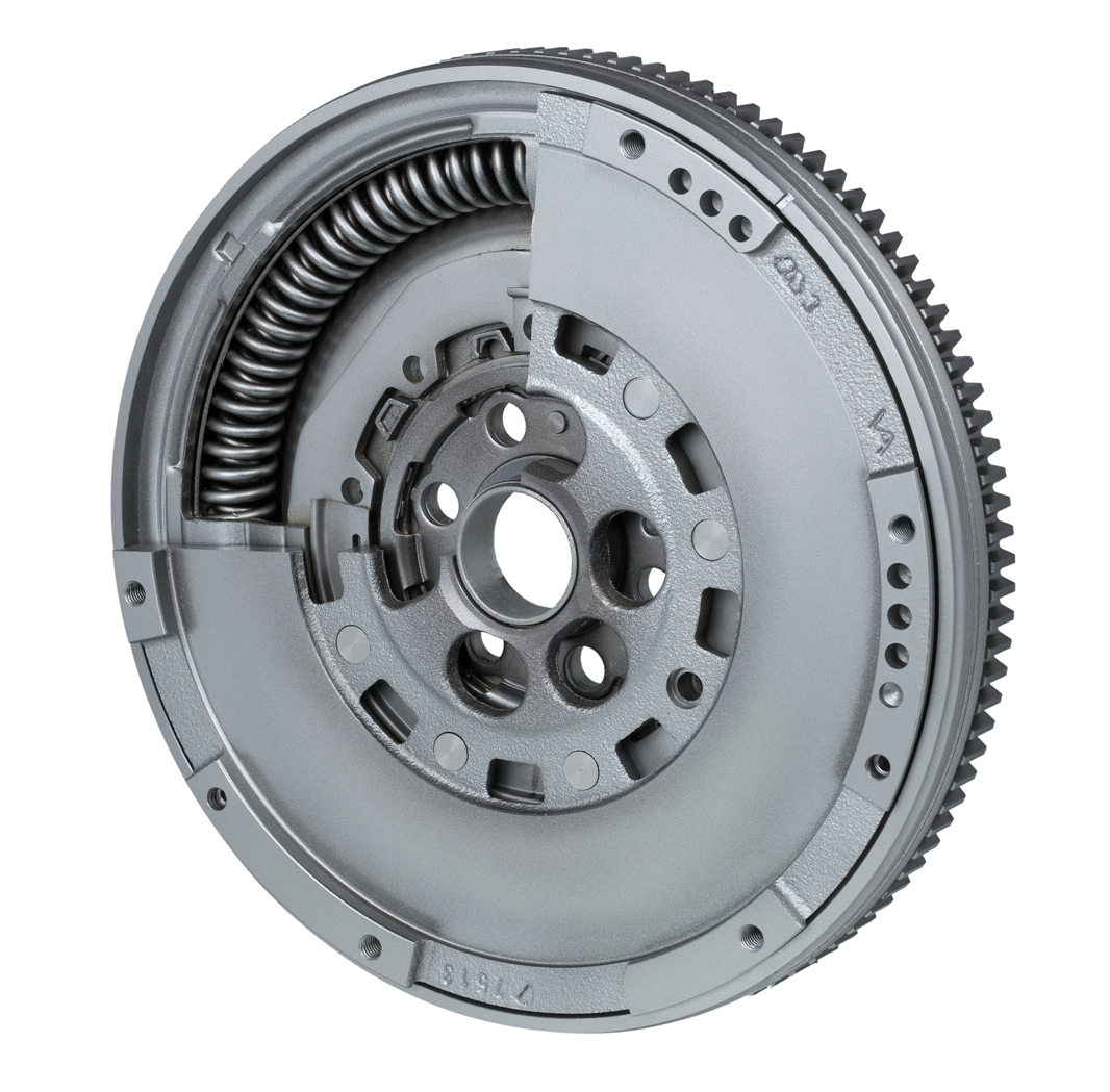 Valeo's Dual Mass Flywheel improves comfort compared to a conventional Dual Mass Flywheel.