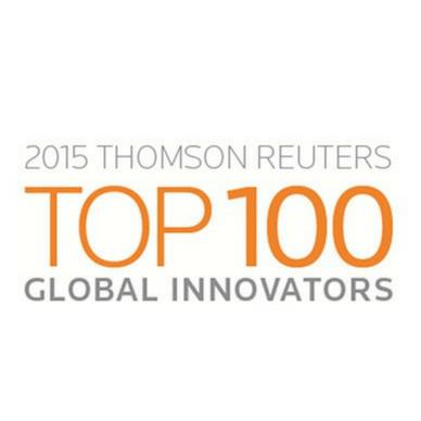 2015 logo top 100 global innovators