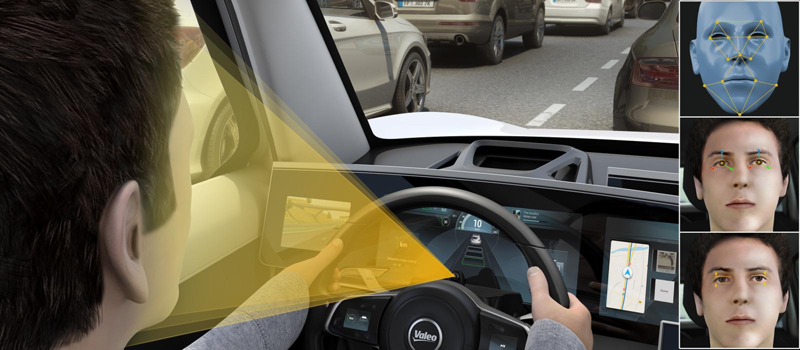Driver Monitoring A Camera To Monitor Driver Alertness