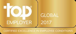 Top Global Employer 2017 logo
