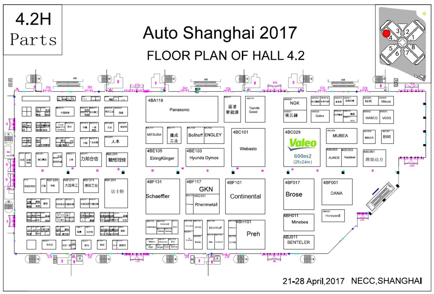 """Valeo Will Be Participating In The """"Auto Shanghai 2017"""