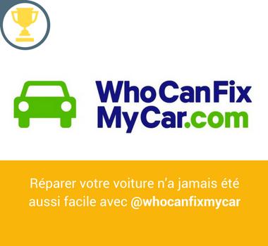 Who can fix my car startup gagnante du challenge le garage de demain du Valeo Lab à VivaTech 2017