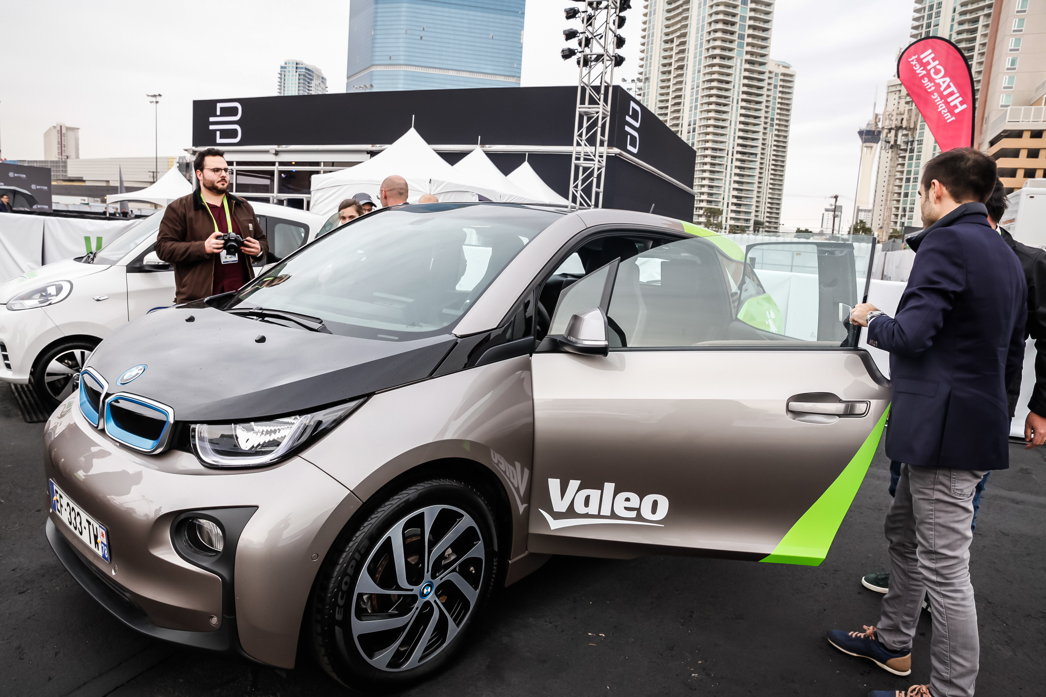 Valeo car exposed at CES 2018