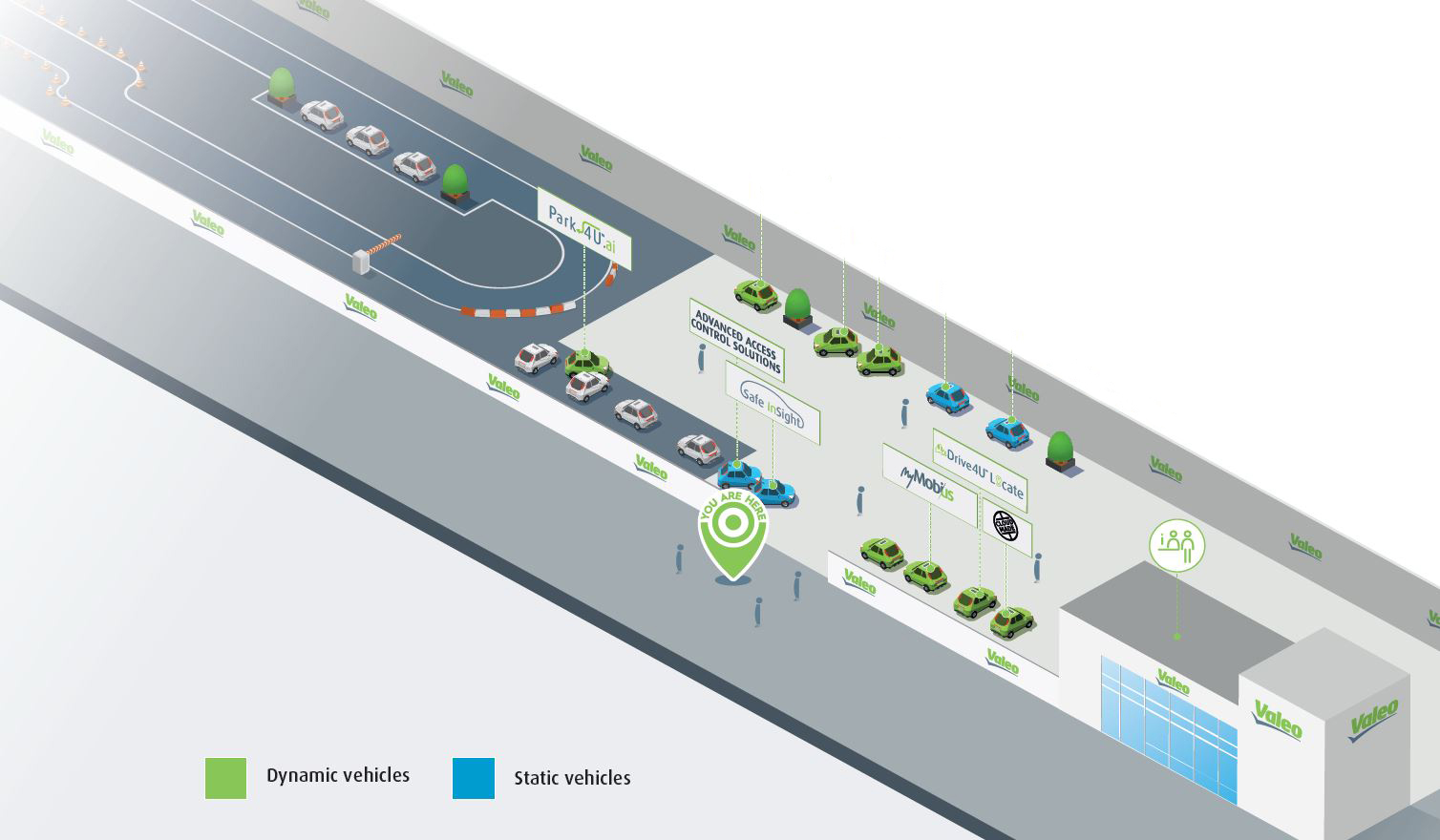 CES 2016 event Valeo stand map
