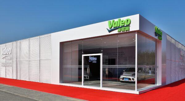 Valeo stand at Auto China 2018