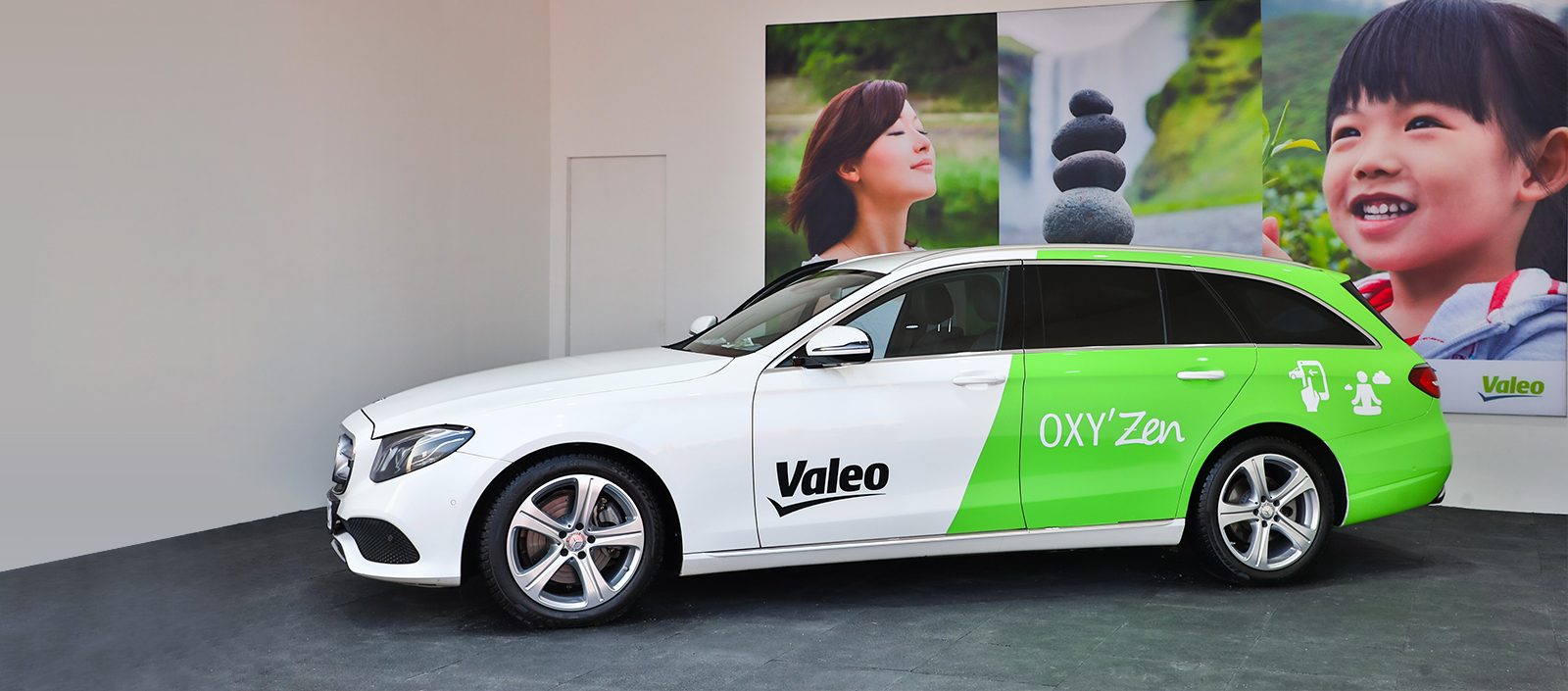 Valeo OXY'Zen at Auto China 2018