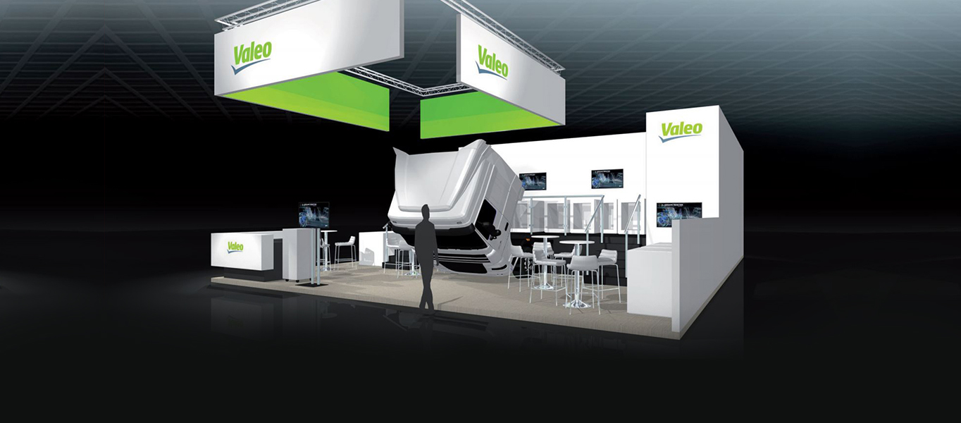 Valeo stand at the 67th IAA