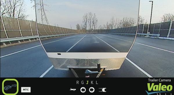 Valeo XtraVue trailer technology demo