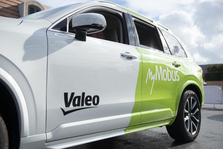 Valeo MyMobius @CES Las Vegas
