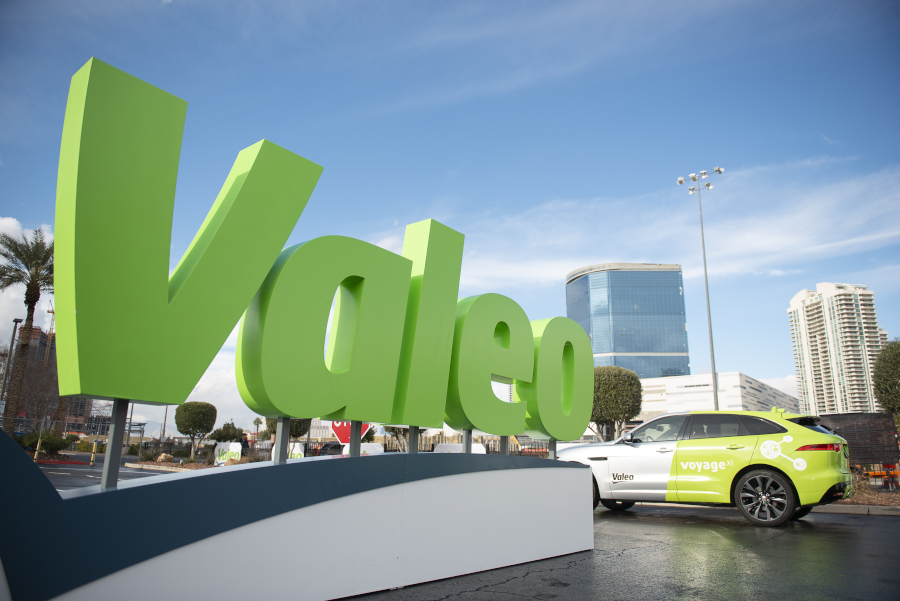 Valeo Voyage XR @CES Las Vegas