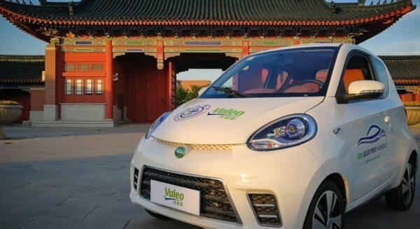 Valeo 48V prototype in China