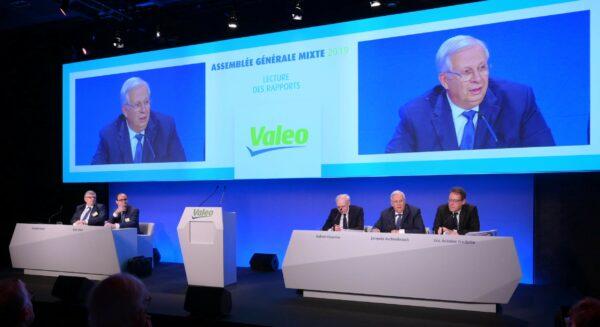 Photo de Jacques Aschenbroich à l'Assemblée générale de 2019