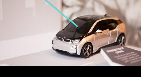 miniature car prototype