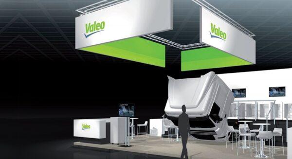 3D Valeo stand