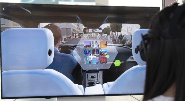 Valeo Voyage XR technology demo
