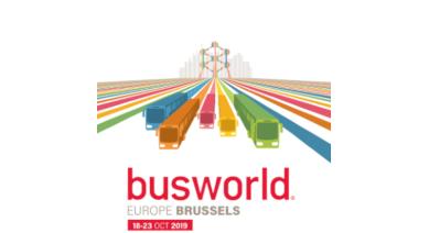 événement Busworld à Bruxelles Belgique logo