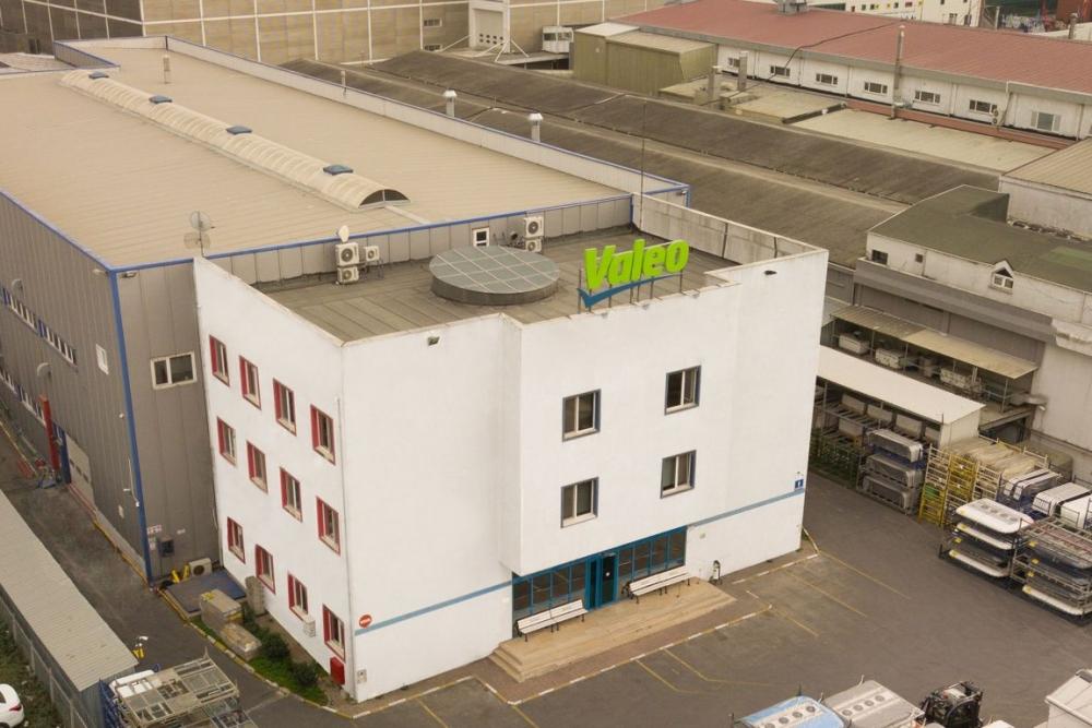 Valeo production plant in Bursa Turkey exterior