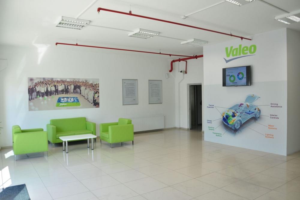 Valeo production plant in Bursa Turkey interior