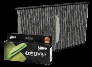 Valeo High Efficiency Cabin air filters Wasabi d Air