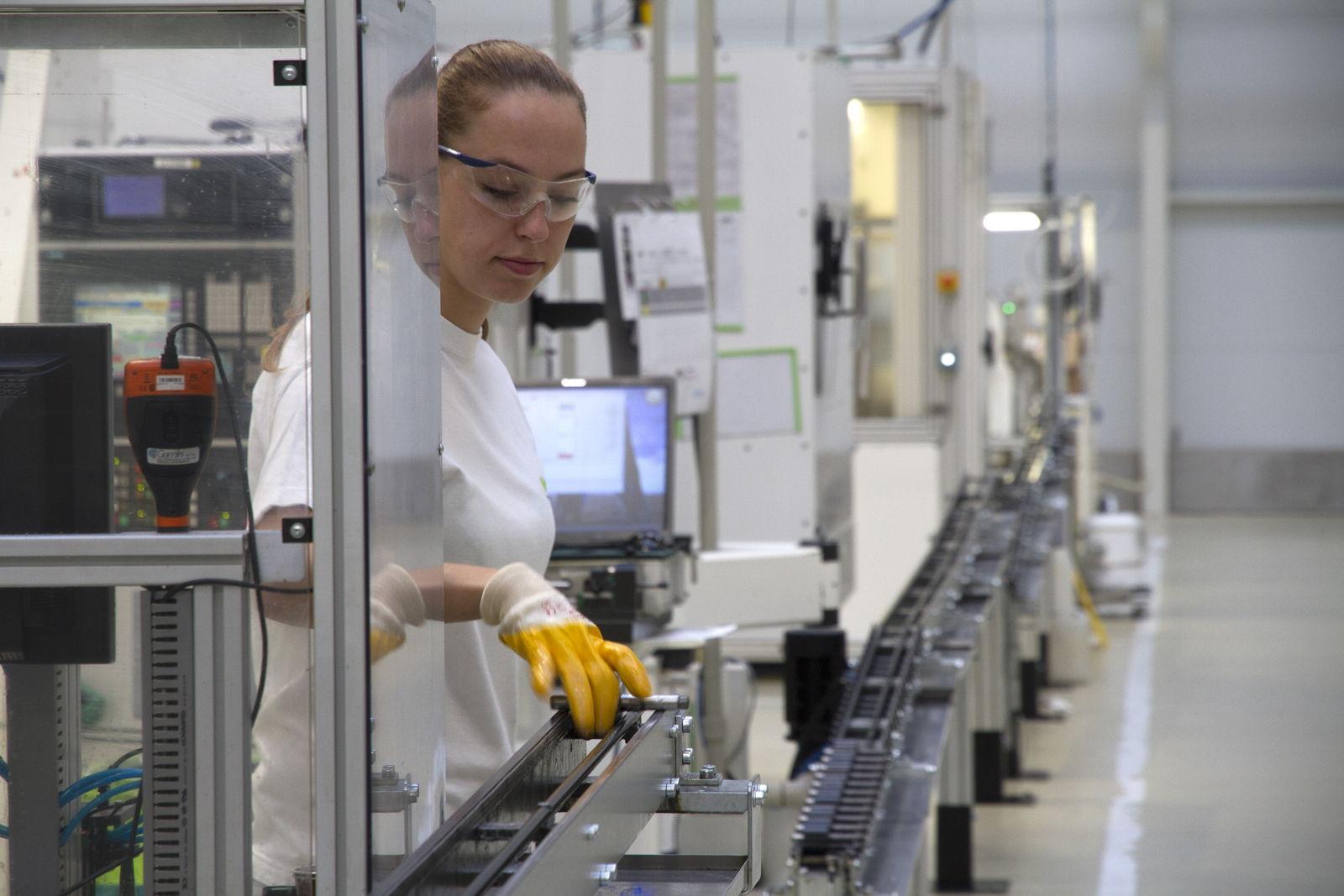 an employee at a Czech Republic plant