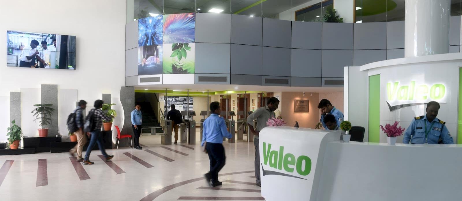 Valeo plant in India Chennai
