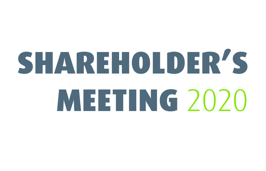 SHAREHOLDERS' MEETING