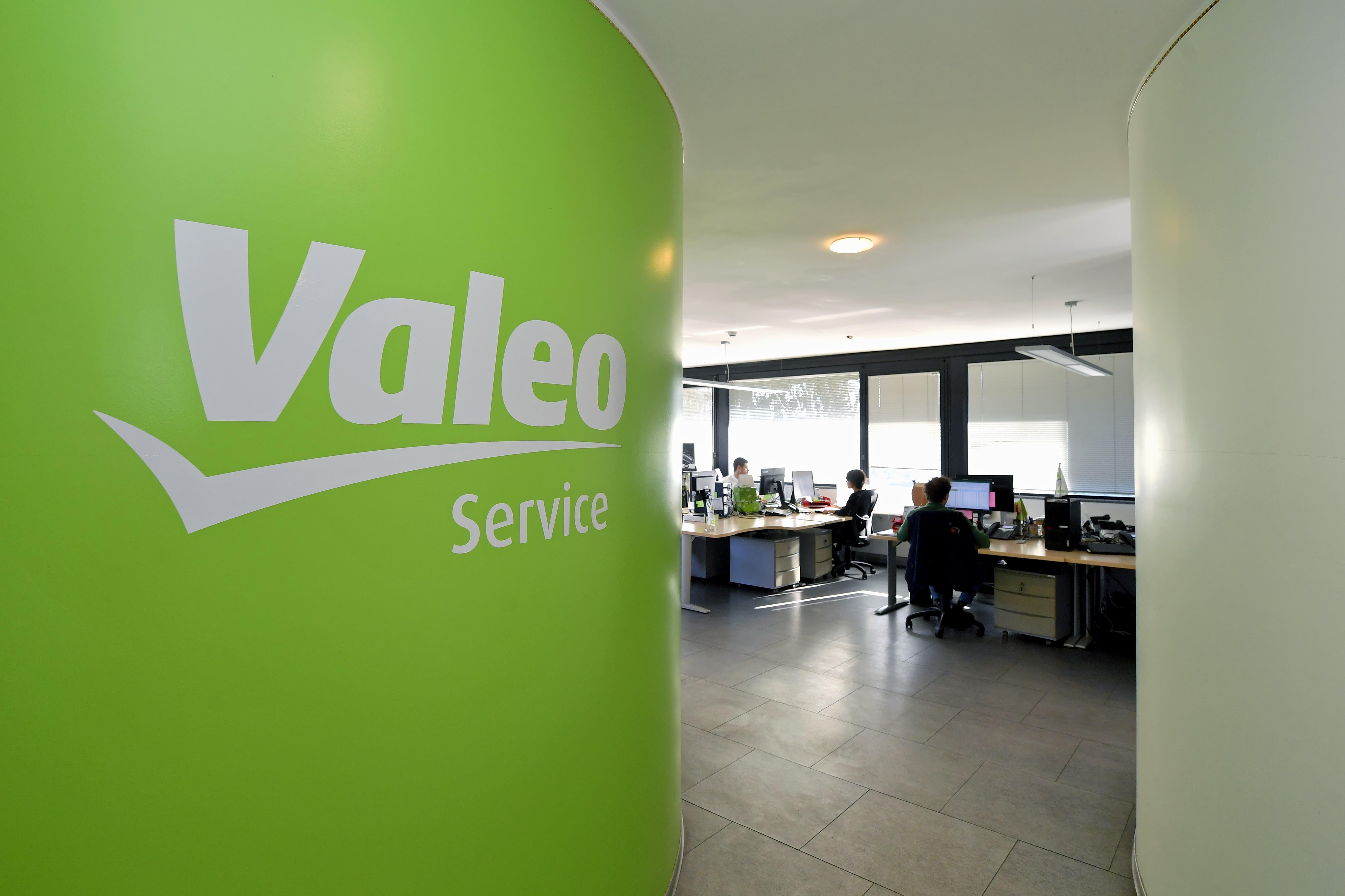 Valeo workers in Italy Santena