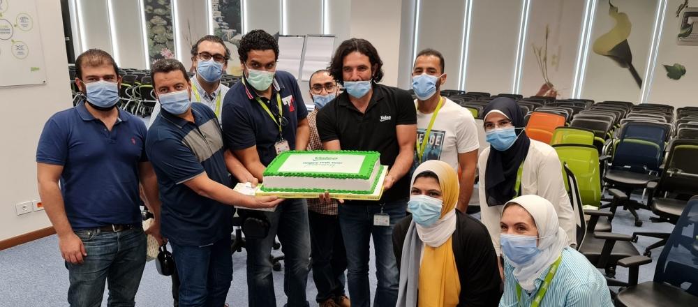 Valeo Egypt celebrating their employees