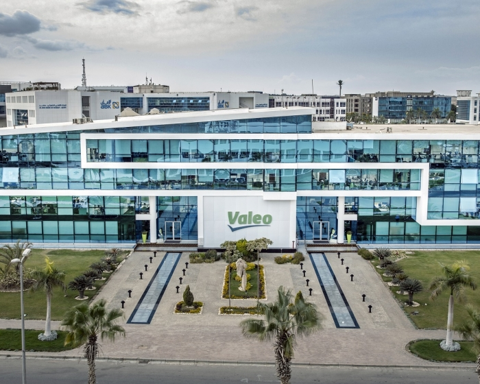 Valeo Automotive Software Center in Cairo in Egypt
