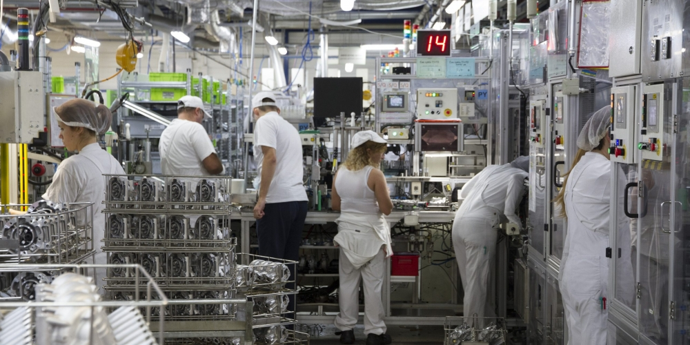 Employees working at Valeo Humpolec