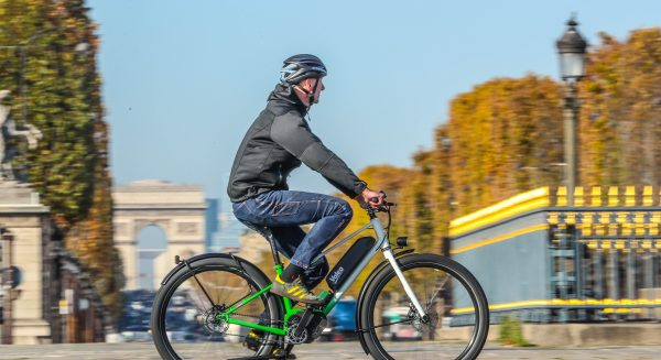 Valeo smart e-Bike system demonstration