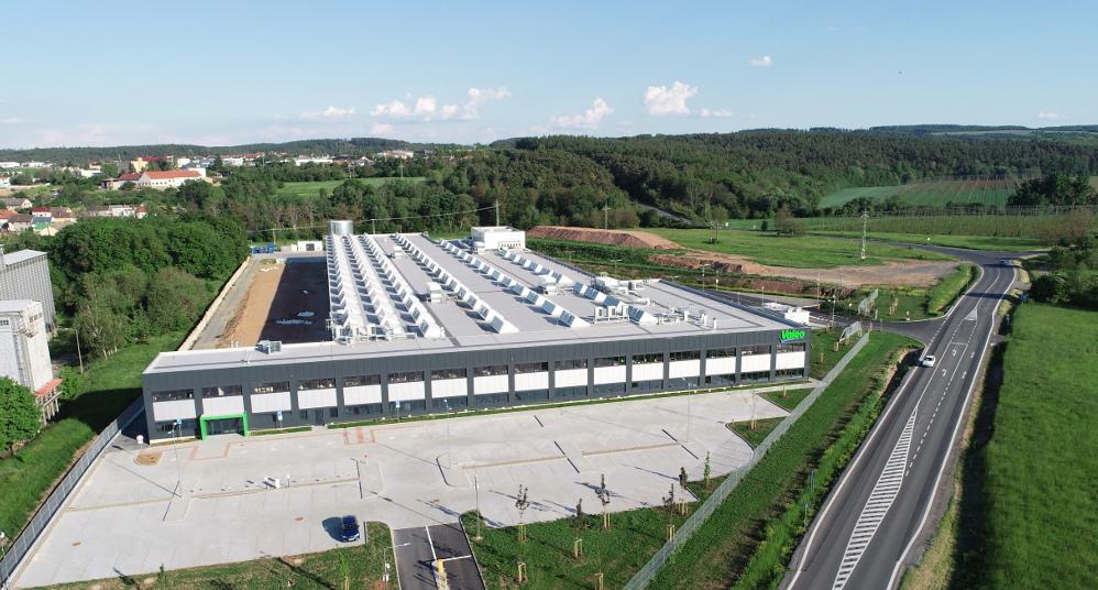 Valeo plant aerial view
