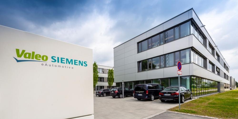 Erlangen Valeo Siemens e-Automotive joint venture