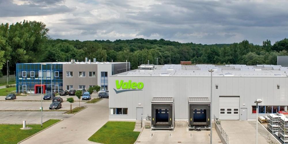 Valeo Thermal Systems plant in Neubrandenburg in Germany