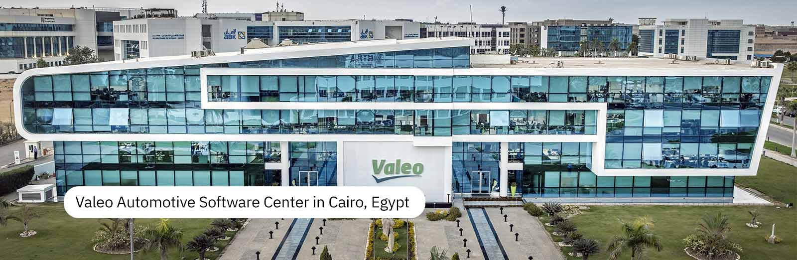 Valeo Automotive Software Center in Cairo, Egypt
