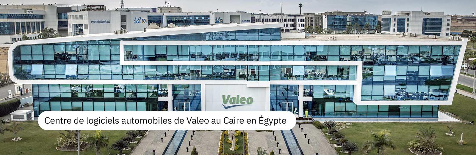 Centre de logiciels automobiles de Valeo au Caire en Égypte