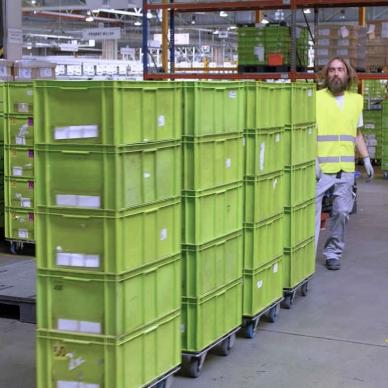 Operátor logistiky – příjem