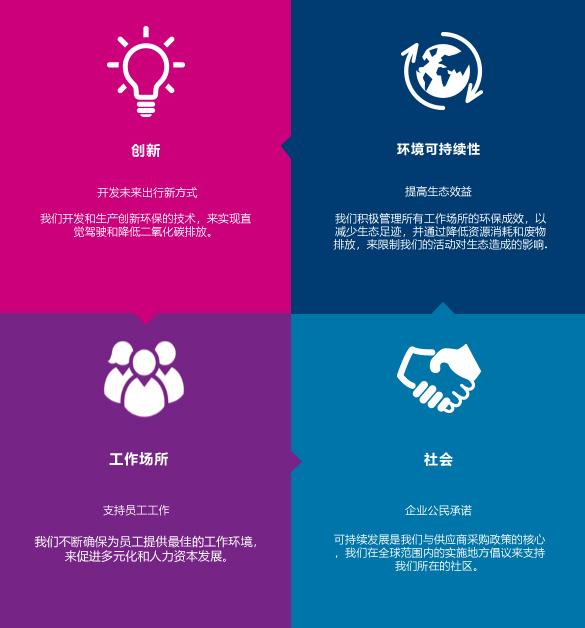 四个主要支柱-见下文描述