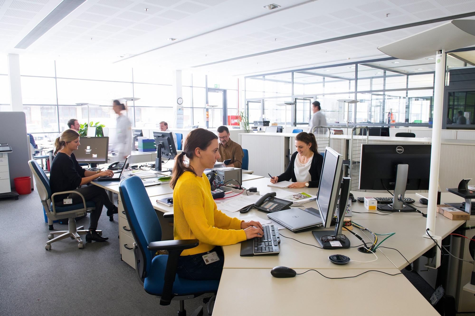 Mitarbeitende im Bereich Finance