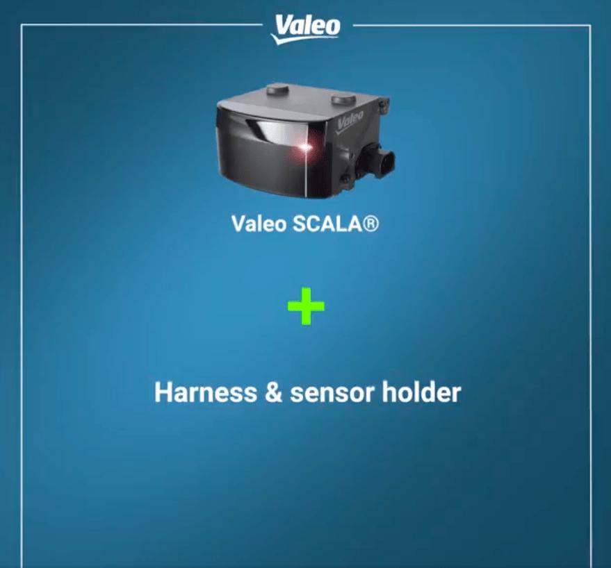 Valeo Scala + harness and sensor holder