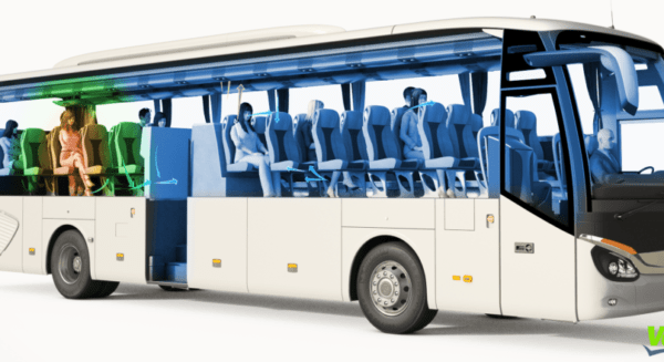 Valeo equips 250 commuter shuttles for employees with its anti-Covid-19 technology