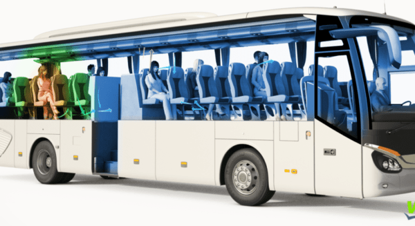 Valeo équipe 250 bus et navettes dédiés au transport de ses collaborateurs de sa technologie éliminant la Covid-19