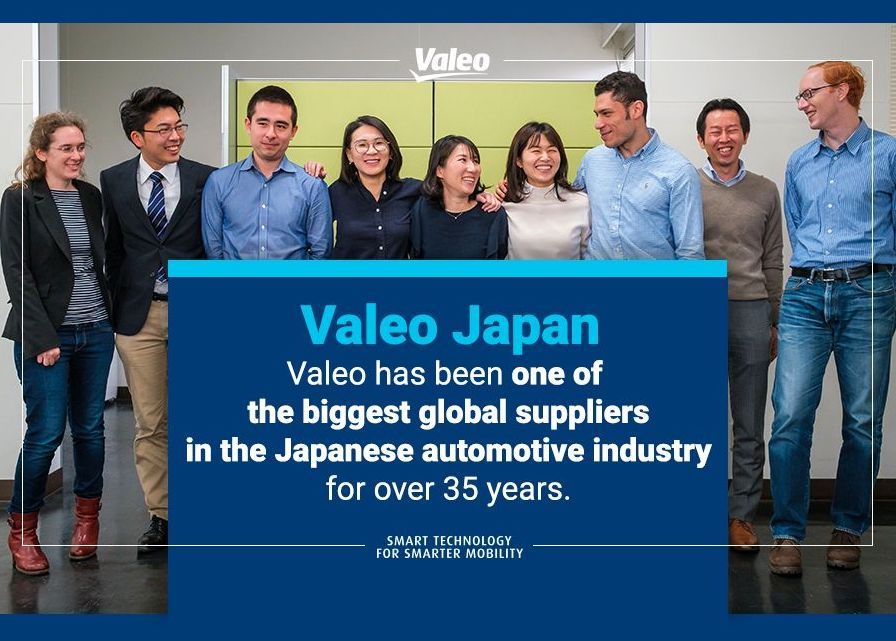 Valeo Japan - Valeo has been one of the biggest global suppliers in the Japanese automotive industry for over 35 years.