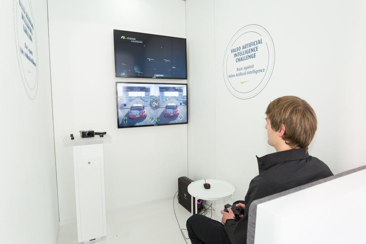 Valeo artificial intelligence challenge at CES 2017