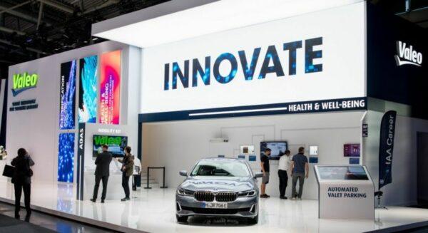 Valeo showcased major innovations at IAA Mobility 2021