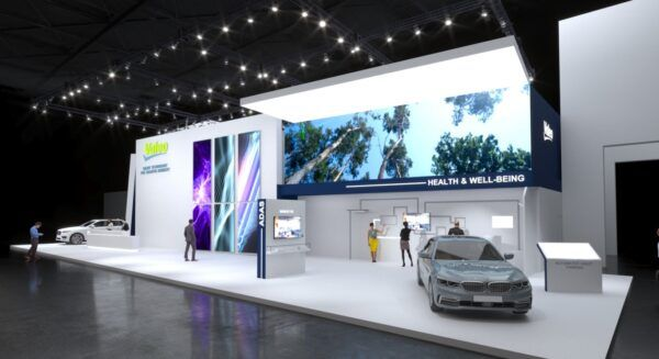Valeo booth at IAA Mobility 2021